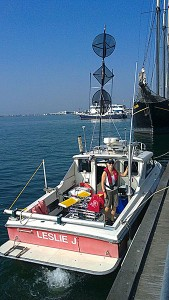 Canadian Great Lakes Acrobat survey using Acrobat modified for shallow water ops.